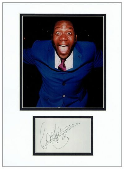 Lenny Henry Autograph Signed Display